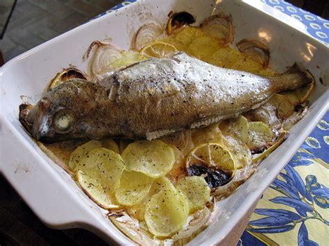 tacaud au four façon boulangère cuisine de la mer