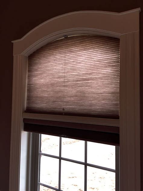 arched window blinds specialty shapes columbia blinds and shutters