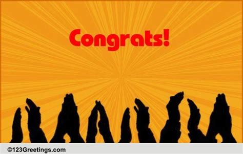 congratulate  colleague  congratulations ecards greeting cards
