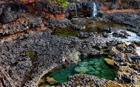 North Shore Secret Lava Pools Near Kilauea, 10 Minute Walk