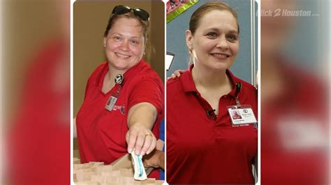 lunch lady loses  pounds  eating  cafeteria food