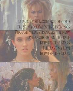17 Best Labyrin... Labyrinth Romantic Quotes