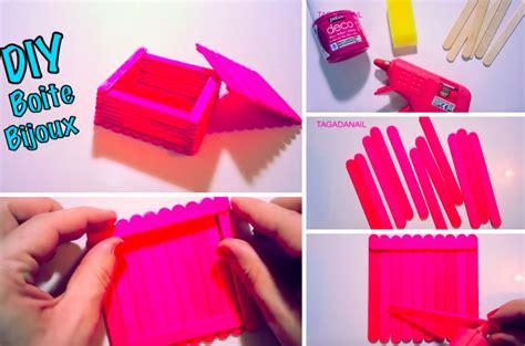 chartreuse cuisine fabriquez une boîte à bijoux avec de simples bâtonnets de