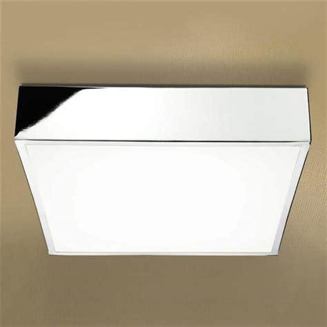 hib inertia led illuminated square ceiling light 0680