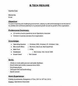 is there any site for resume samples for freshers quora With sample resume for freshers looking for the first job