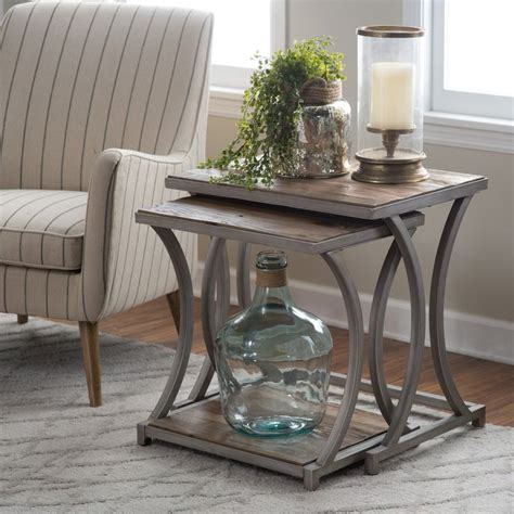 Wood Living Room Side Table by 25 Best Ideas About Nesting Tables On Painted