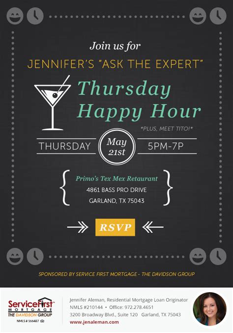 Happy Hour Email Invitation On Behance. House Offer Letter Template. Election Poster Ideas. About The Author Template. Graduate Schools In Dallas. Garage Sale Sign Images. Real Estate Flyer Ideas. Toy Story Poster. Word Brochure Template Free