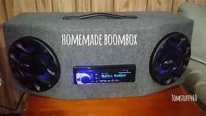 Homemade Boombox Car Stereo