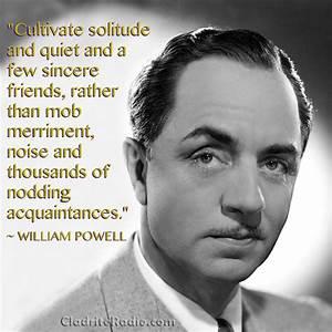 William Powell Quotes. QuotesGram
