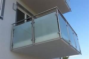 Milchglas Für Balkon : balkongel nder singer metallbau kulmbach bayreuth oberfranken ~ Markanthonyermac.com Haus und Dekorationen