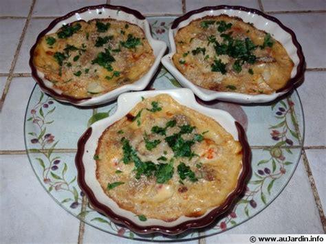 cuisiner coquilles jacques congelees coquilles st jacques recette de cuisine