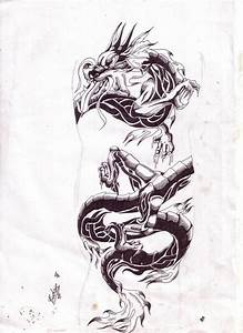 chinese dragon.tribal tattoo by tagitbud on DeviantArt