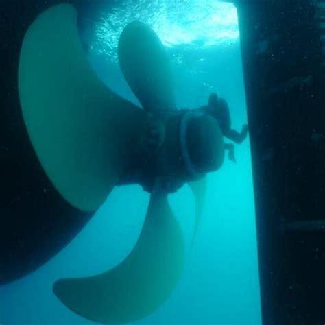 Boat Propeller Underwater by Propeller Repairs Upe Global Underwater Maintenance