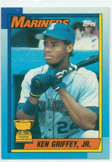 1990 Deck Ken Griffey Jr Value by Ken Griffey Jr 1990 Topps All Rookie Card 30 Year