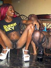 Black Teen Flexible Black Chicks Poses Like A Stripper