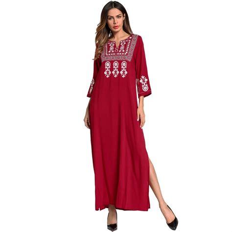 Maxi Arabian babalet s muslim abaya embroidered new dress maxi