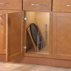 Tray Pan Pot Rack Divider Kitchen Cabinet Storage Holder