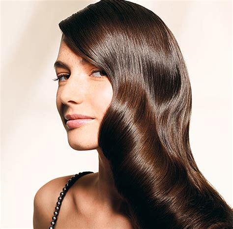 Get Glossy Hair how to get shiny hair