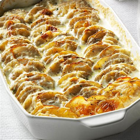 simple scalloped potatoes recipe taste of home