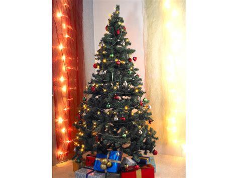 Weihnachtsbaum Mit Led Beleuchtung Infactory Kunstbaum Künstlicher Weihnachtsbaum Grün 180