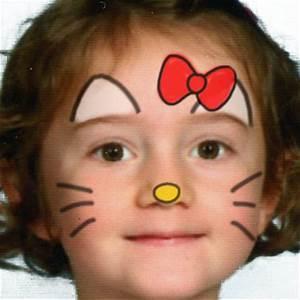 Maquillage Enfant Facile : maquillage hello kitty ~ Farleysfitness.com Idées de Décoration