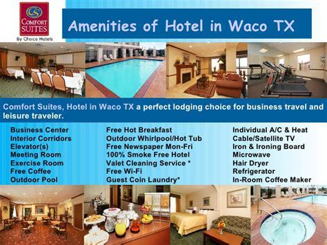 waco hotels texas tx suites