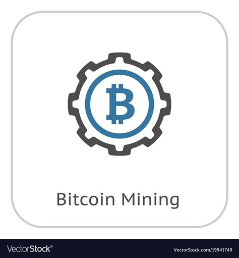 The best selection of royalty free bitcoin icon vector art, graphics and stock illustrations. Bitcoin mining icon Royalty Free Vector Image - VectorStock