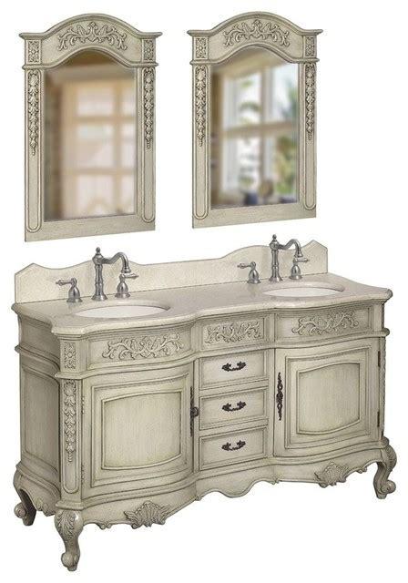 Antique Bathroom Vanity Units by Foret 80044rn Basin Vanity In Antique