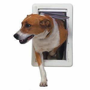 Perfect pet all weather pet door dog dog doors gates for Smart dog door for wall