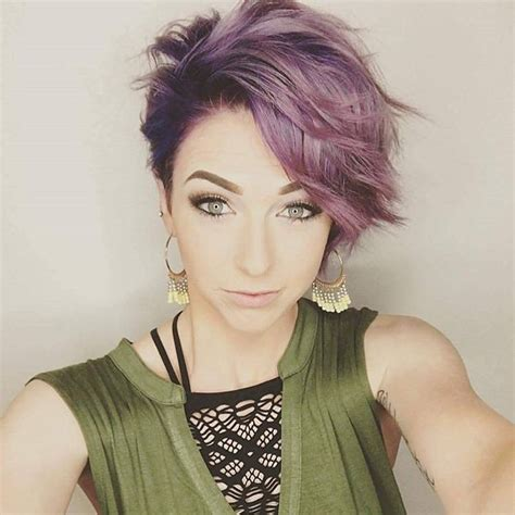 short edgy haircuts  women   shocking  cut color popular haircuts