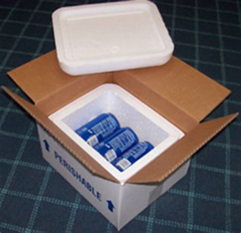 foam insulated shipping boxes insulated foam boxes gel packs