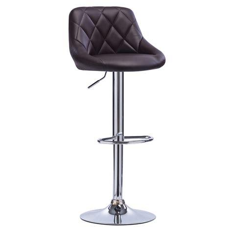 ebay tabouret de bar 1 tabouret de bar pivotant 224 en cuir synth 233 tique chaise cuisine r 233 glable f015 ebay