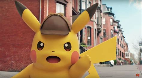 Live-action 'detective Pikachu' Movie Hits Theaters In May