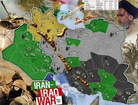 Map Iran Iraq War