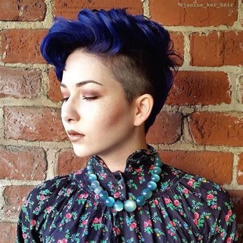 pixie cut hair color best 25 dyed pixie cut ideas on dyed