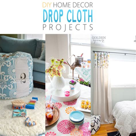 Diy Home Decor Drop Cloth Projects  The Cottage Market