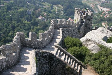 moorish castle travel story  pictures  portugal