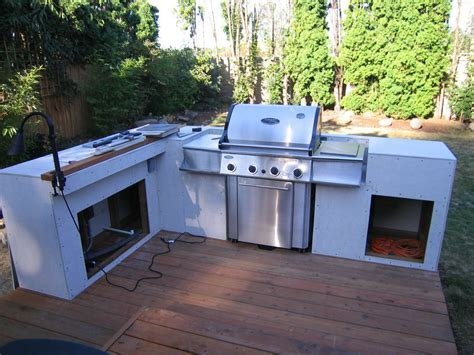 outdoor cooking: bbq island made simple step 2: installing