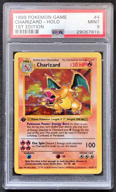 Printed at the top of the card. eBay Pokemon Cards Selling Price | Apartment Therapy