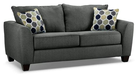 Sofa Or Loveseat by Heritage Sofa Grey S