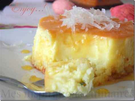 dessert a la noix de coco flan coco le cuisine de samar