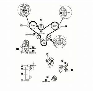 Mazda 929  Timing Belt  Diagram 52 Timing Mark Alignment