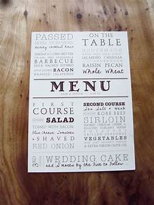 1000+ ideas about Menu Cards on Pinterest