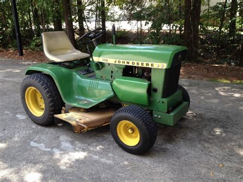 deere 110 lawn and garden tractor ebay