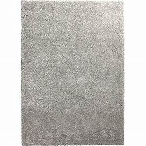 tapis gris shaggy lizzy l200 x l290 cm leroy merlin With tapis but gris