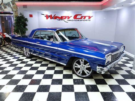 chevy impala ss coupe  speed custom paint interior
