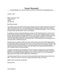entry level cover letter for resume entry level cover letter exle