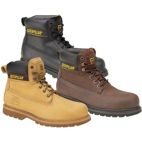 cat safety shoes cat holton sb safety boots