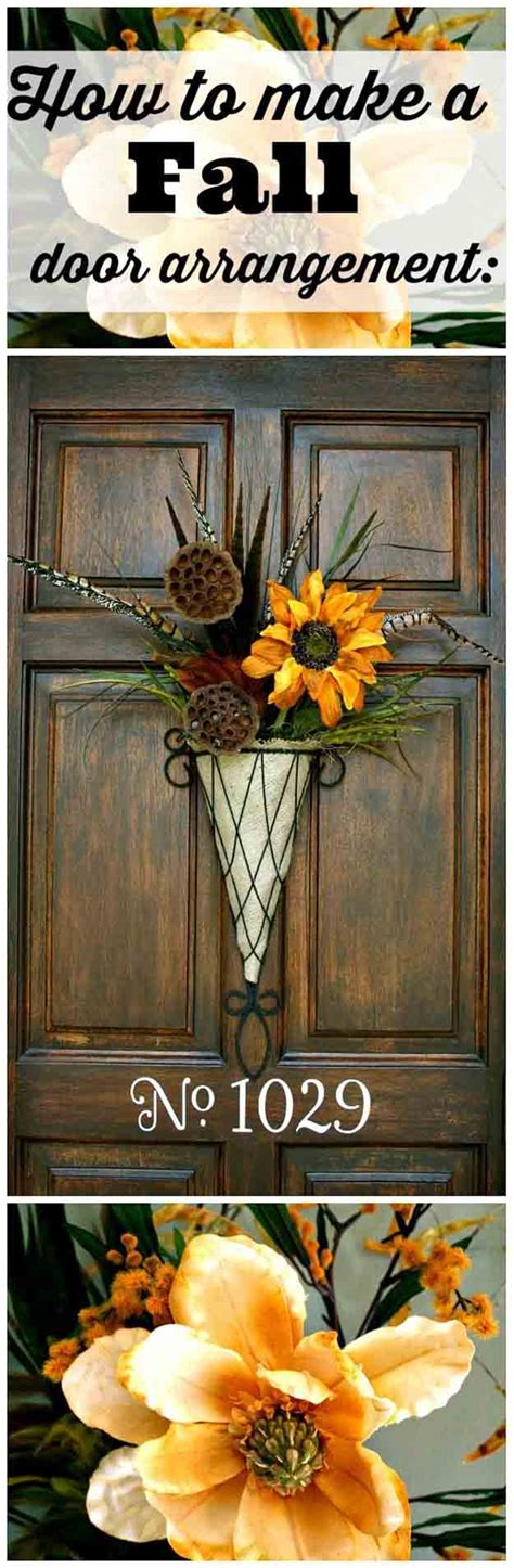 fall door decoration 21 diy fall door decorations diy ready