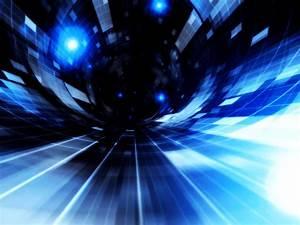 HD Blue Abstract Wallpaper